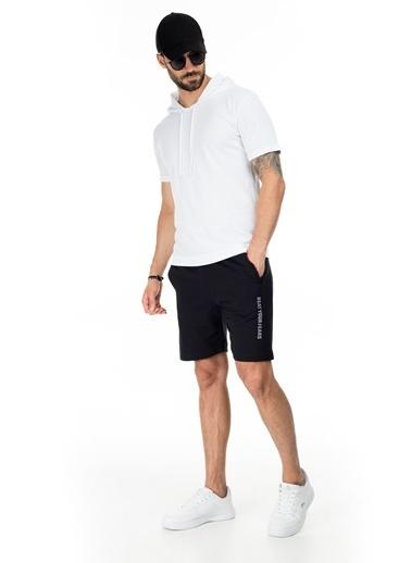 Buratti Buratti Pamuklu Belden Bağlamalı Slim Fit Short Erkek Short 568R165 Siyah